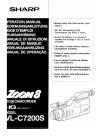Sharp VL-C7200S