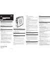 GE 3-5362 Operation & User's Manual 1 pages