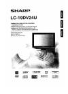 Sharp LC19DV24U - 19