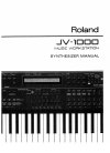 Roland JV-1000 Manual  214 pages