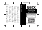 Roland UA-1X Owner's Manual 124 pages