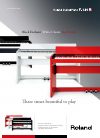 Roland F-120 R Brochure & specs