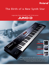 Roland JUNO-D Specifications