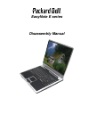 Packard Bell EasyNote W Series Disassembly Manual 27 pages