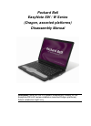 Packard Bell EasyNote W Series Disassembly Manual 18 pages