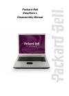 Packard Bell EasyNote W Series Disassembly Manual 17 pages