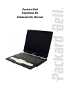 Packard Bell EasyNote B3 Disassembly Manual 15 pages