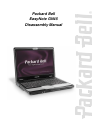 Packard Bell EasyNote GN45 Disassembly Manual 17 pages