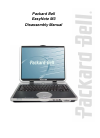 Packard Bell EasyNote M3 Disassembly Manual 20 pages