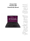 Packard Bell EasyNote ME Disassembly Manual 25 pages