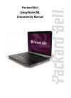 Packard Bell EasyNote ML Disassembly Manual 17 pages