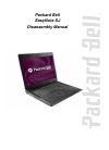 Packard Bell EasyNote SJ Disassembly Manual 28 pages