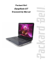 Packard Bell EasyNote ST Disassembly Manual 30 pages