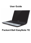 Packard Bell EasyNote TE Operation & User's Manual 114 pages