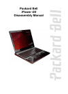 Packard Bell iPower GX Disassembly Manual 34 pages