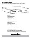 Panamax BATT1500-EXT