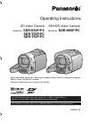 Panasonic SDR-H85P/PC
