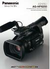 Panasonic P2HD AG-HPX250