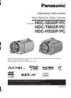 Panasonic HDC-HS20P