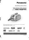 Panasonic HDC-HS9P