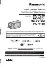 Panasonic HC-V210K