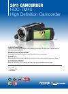 Panasonic HDC-TM40K