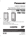 Panasonic HM-TA2