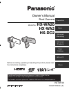 Panasonic HX-WA2A