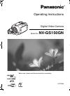 Panasonic NV-GS150GN