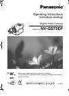 Panasonic NV-GS75EP