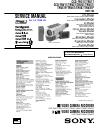 Sony CCD-TR317