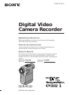 Sony DCR-PC10