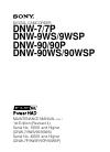 Sony DNW-7