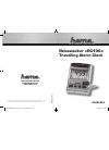 Hama RC100 Operating Instructions Manual 20 pages