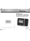 Hama RCR100 Operating Instructions Manual 18 pages