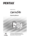 Pentax Optio S5i