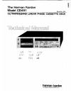 Harman Kardon CD491 Technical Manual 32 pages