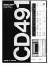 Harman Kardon CD491 Owner's Manual 15 pages