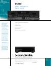 Harman Kardon DC520 Specifications 1 pages