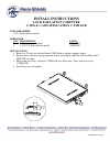 Havis-Shields C-3090 Install Instructions 1 pages