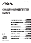 Aiwa CA-DW50 Operating Instructions Manual 92 pages