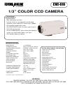 Speco CVC-610