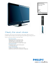 Philips 32PFL3403 Specifications