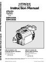 Hitachi DZ-MV230A - Camcorder