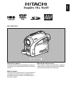 Hitachi DZHS500A - UltraVision Camcorder - 680 KP