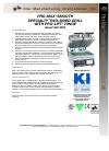 Star Manufacturing GR14SPTA Specification sheet