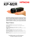 Hitachi KP-M2R