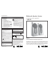 Philips MMS223/00 Quick setup manual