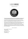 Humminbird HDR 600
