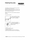 Indesit DRAIN PUMP CLEANING Manual  1 pages